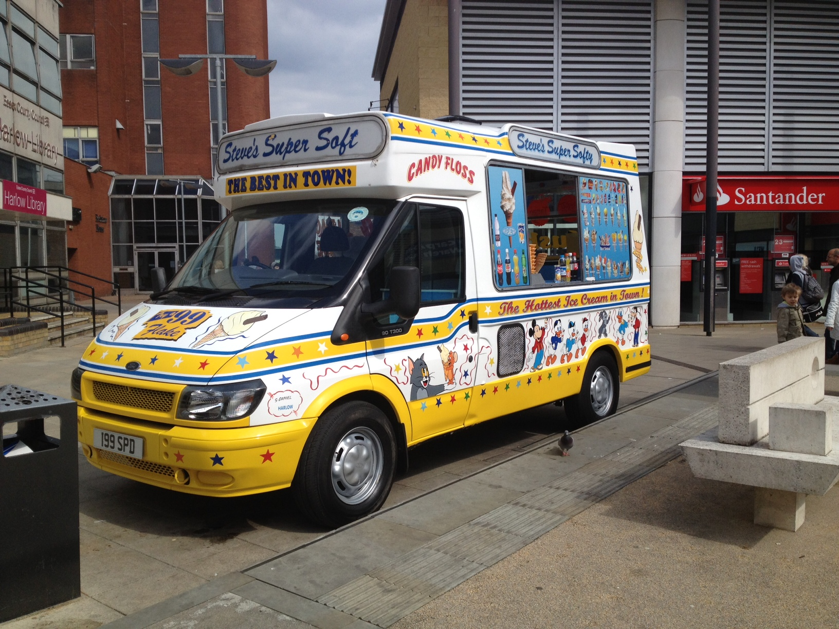 Hire an ice cream van for your event
