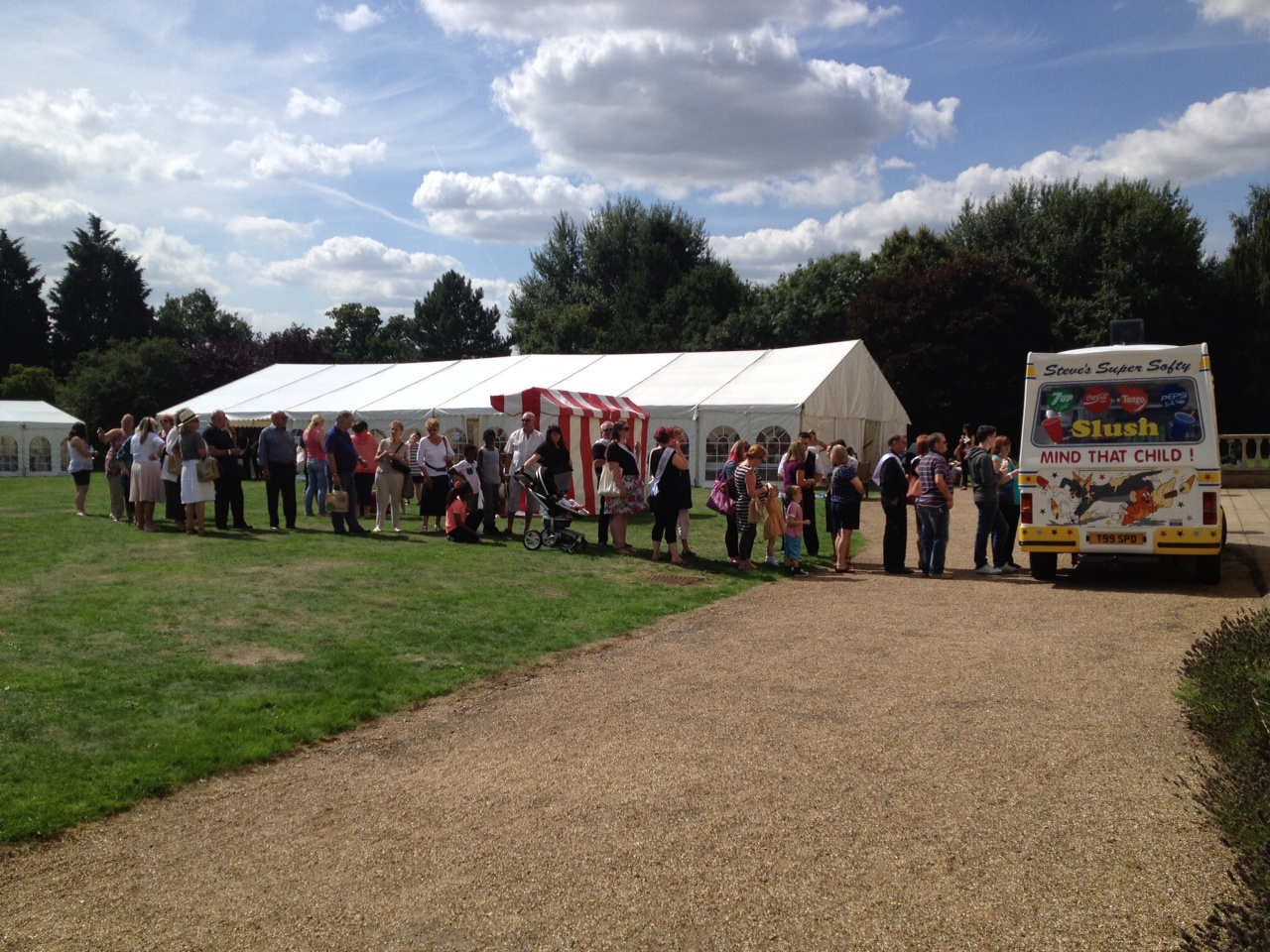 Ice cream van hire and catering by Steve's Ices