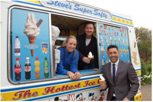 Steve's Ices in Harlow - Cool Fundraiser for St Clare Hospice!